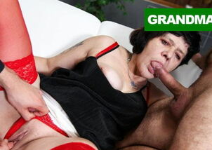 Nasty granny sex